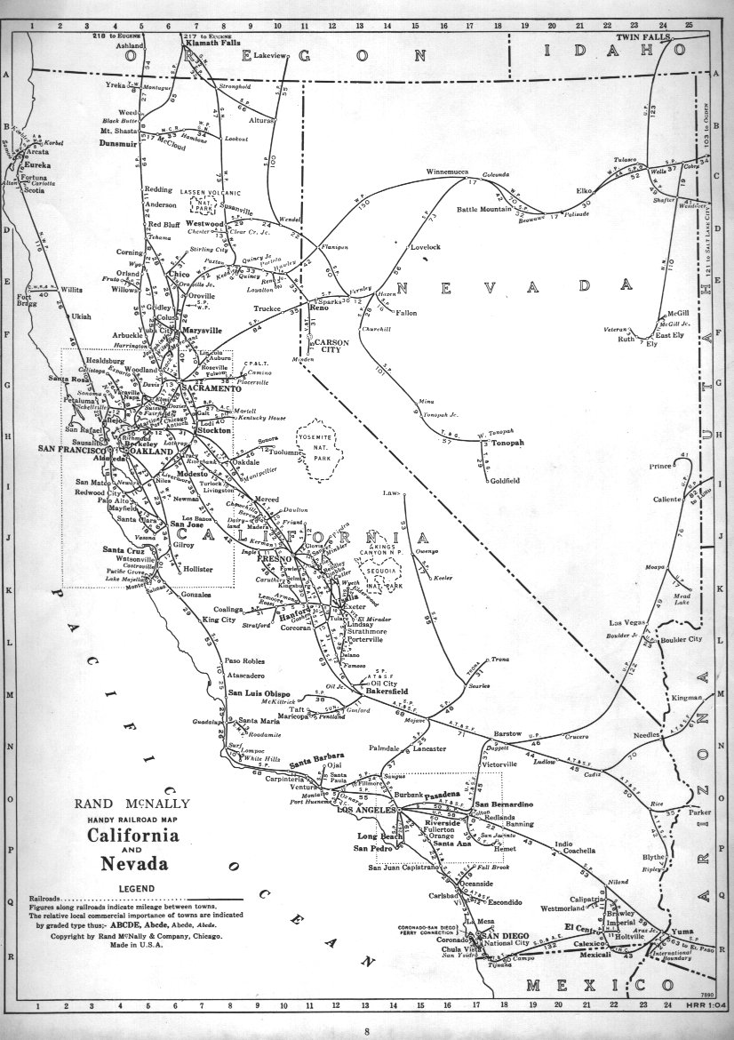 P-FMSIG :: 1948 U.S. Railroad Atlas on nevada military map, nevada transportation map, nevada map with latitude and longitude, nevada speed limit map, nevada farms, nevada gold maps, carlin trend nevada map, nevada largest cities, nevada transmission line map, nevada rivers, nevada lakes map, freight train routes california map, nevada road map, u.s. geothermal map, eagle valley nevada map, nevada utilities map, nevada reservoirs, nevada abandoned railroads, nevada on map, nevada gis geologic maps,